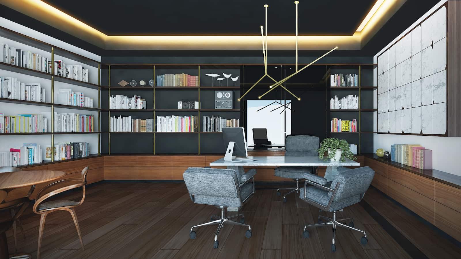 casabosquerealvr04-CVBR-Biblioteca